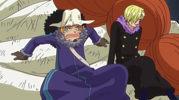 One Piece - Episode 604 - Get to Building R! the Pirate Alliance's Great Advance!