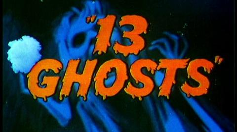 13 Ghosts (1960) - Theatrical Trailer for this William Castle horror classic
