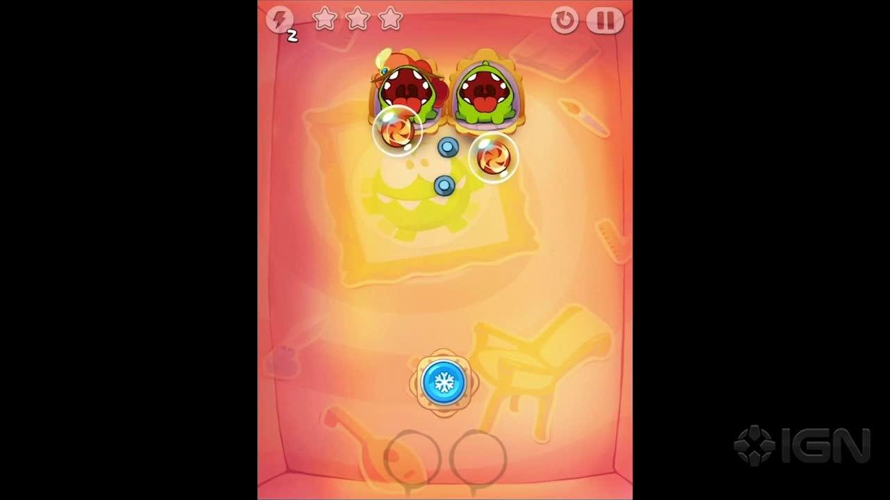 IGN Plays Cut the Rope Time Travel