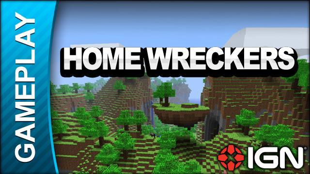 Minecraft - Homewreckers - Gameplay