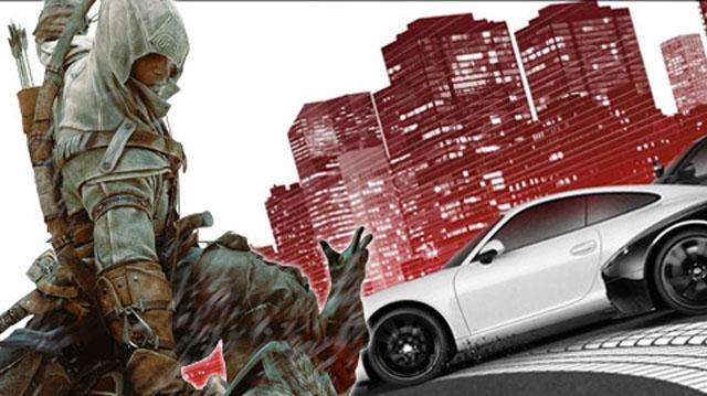 Assassin's Creed III and Need for Speed are Week's Most Wanted