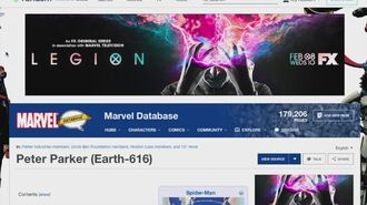 Ad Tests on Fandom - Marvel Database Example