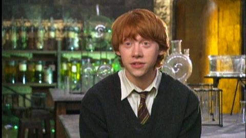 """Harry Potter and the Order of the Phoenix (2007) - Interview Rupert Grint """"On Harry and Ron reuniting"""""""