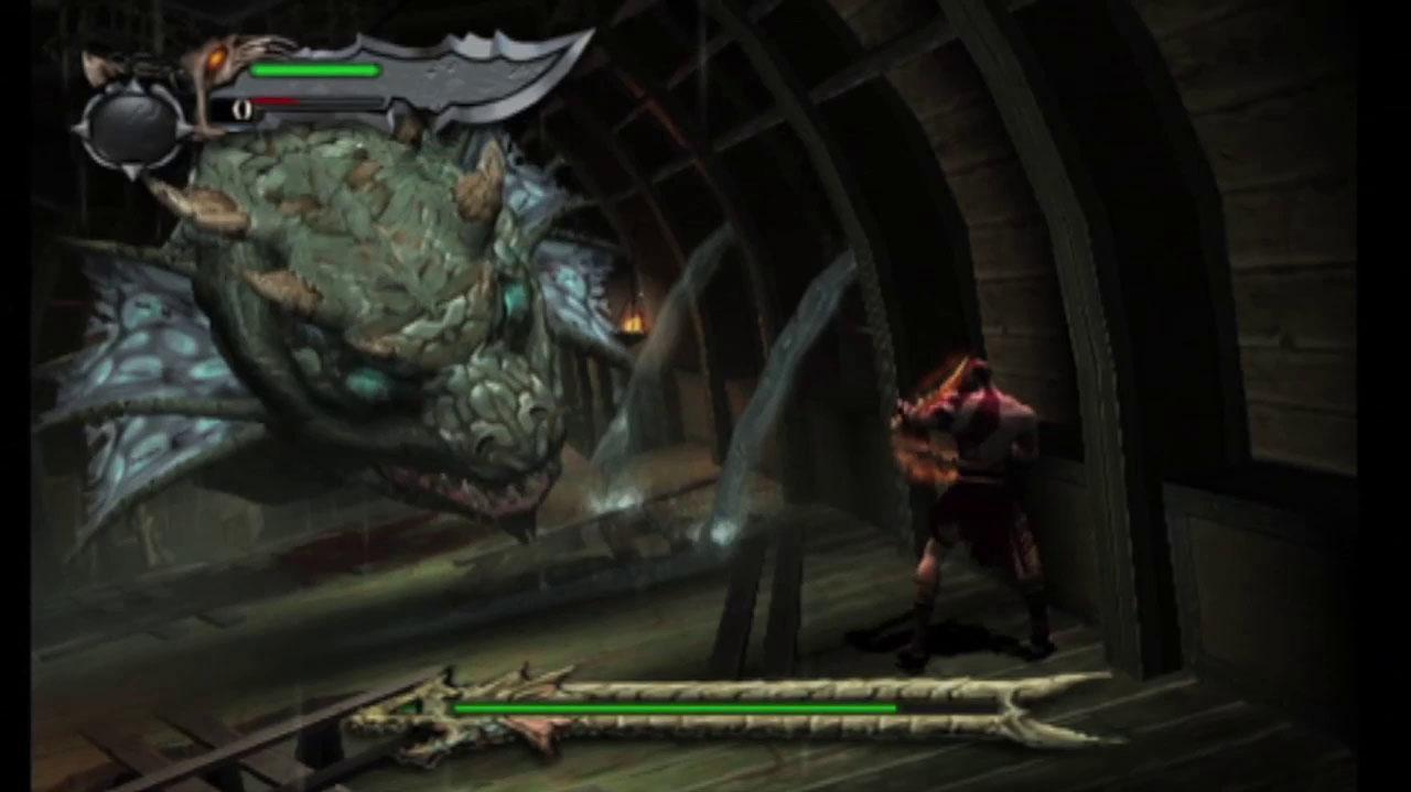God of War Hydra Battle