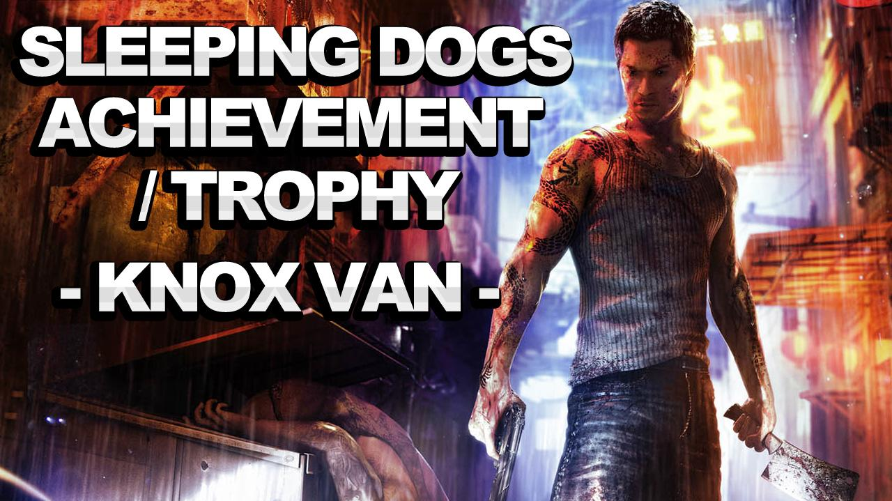 Sleeping Dogs Achievement Trophy - Kleptomaniac