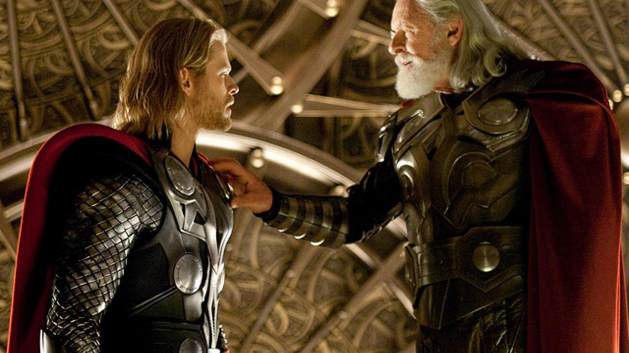Thor Gets Cast Out of Asgard