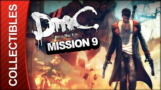 DmC Devil May Cry Mission 9 Devil Inside Collectible Locations - All Keys Doors and Lost Souls