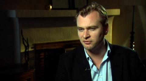 """The Dark Knight (2008) - Interview Christopher Nolan """"On Batman's emotional state at the beginning of the movie"""""""