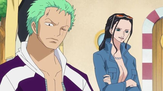 One Piece - Episode 575 - Z's Ambition! Lily the Little Giant!