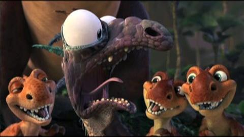 Ice Age Dawn of the Dinosaurs (2009) - Clip I am raising them vegetarian