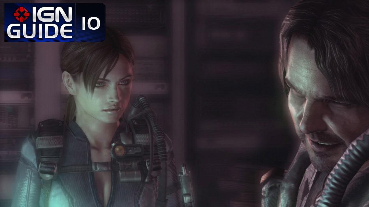 Resident Evil Revelations Walkthrough - Episode 4-1A (Part 10)