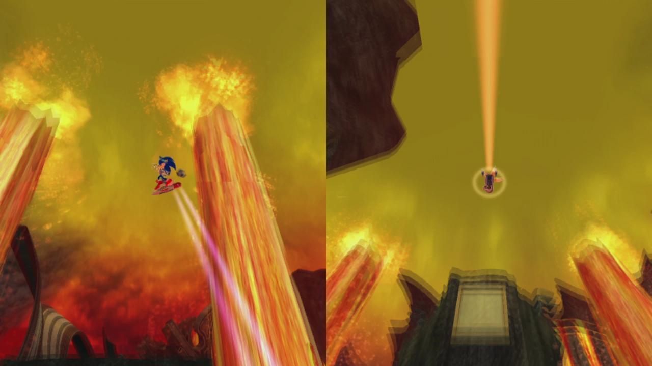 Sonic Free Riders Multiplayer Trailer