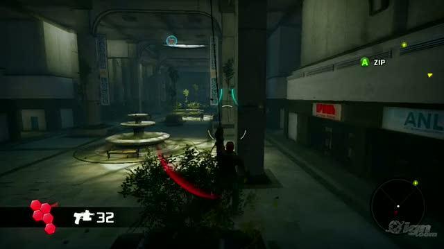 Bionic Commando Xbox 360 Gameplay - Retro Skin