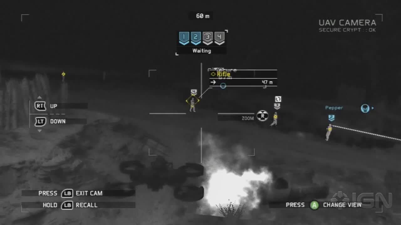 Ghost Recon Future Soldier - Drone - Gameplay