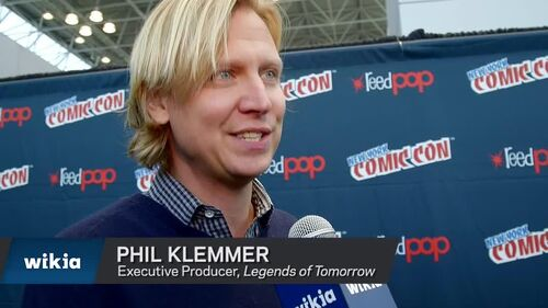 NYCC - Legends of Tomorrow Phil Klemmer Interview