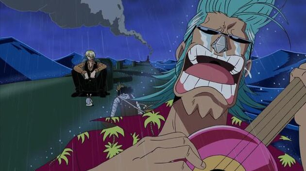 One Piece - Episode 257 - Smash the Wave! Luffy and Zoro Use the Strongest Combo!