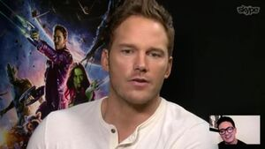 Marvel's Guardians of the Galaxy - Skype Group Video Call With the Stars