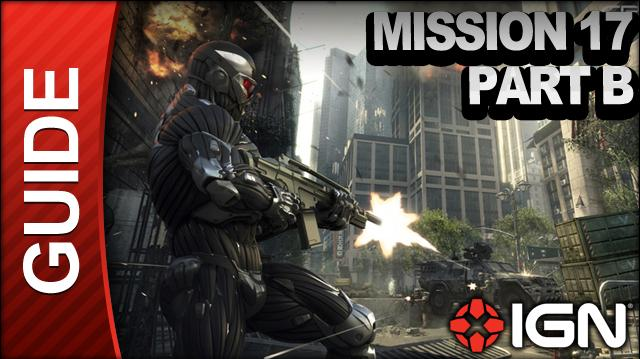Crysis 2 - Mission 17 Part B Out of the Ashes - Walkthrough