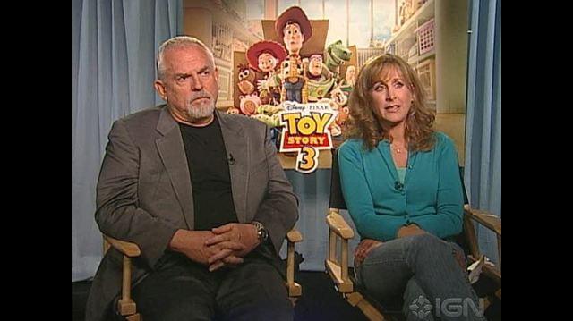 Toy Story 3 Movie - John Ratzenberger & Jodi Benson Chat