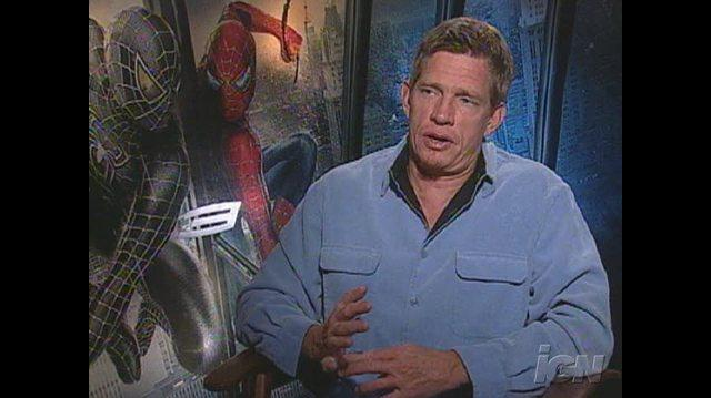 Spider-Man 3 Movie Interview - Thomas Haden Church