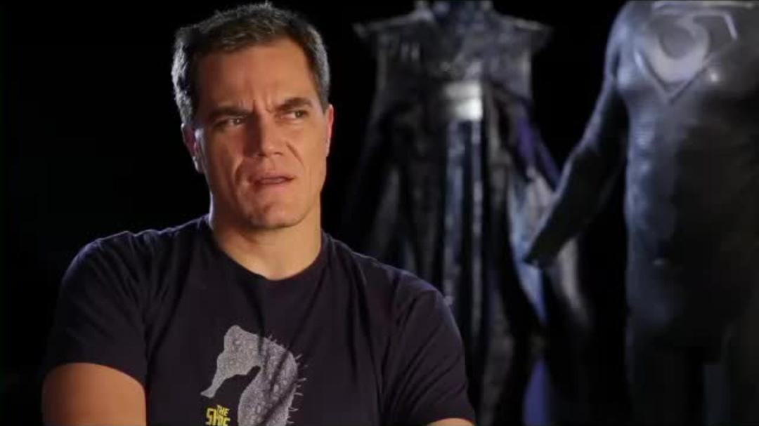 Superman Man of Steel Interview - Michael Shannon