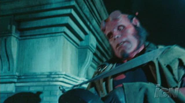 Hellboy II The Golden Army Movie Clip - Waking Up The Baby