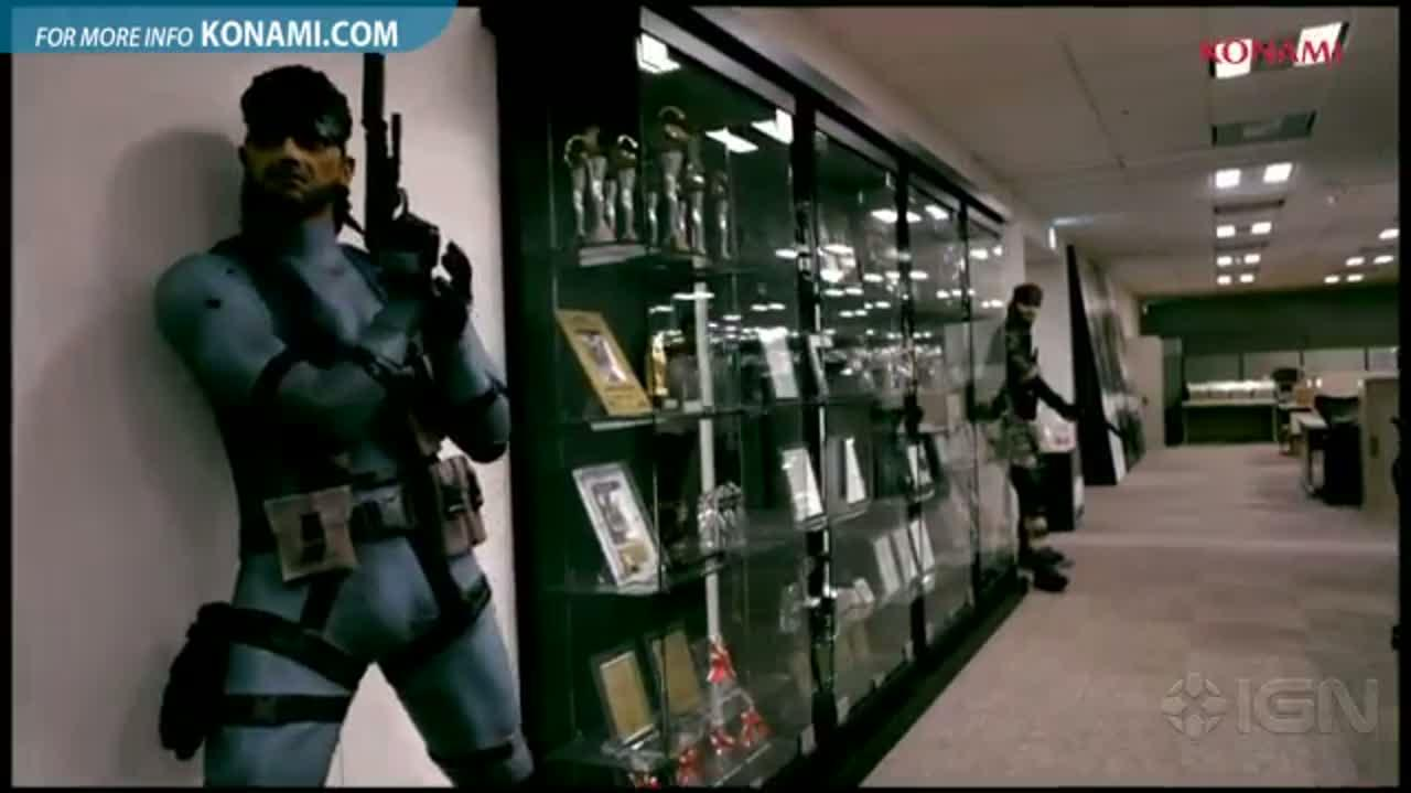 Konami E3 2012 Metal Gear 25th Anniversary