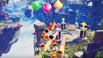 Official Snake Pass — Time Trial Update DLC Trailer