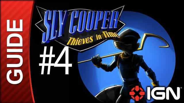 Sly Cooper Thieves in Time Walkthrough - 4 Prologue (Cinematic)