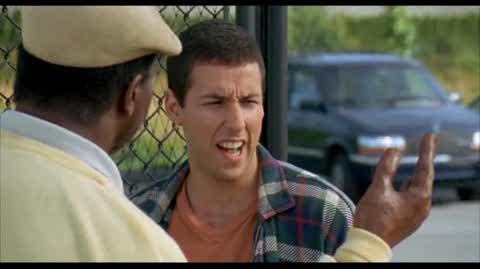 Happy Gilmore - baseball maching