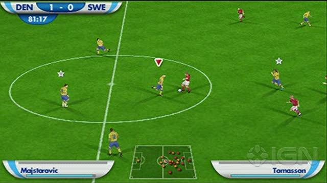 2010 FIFA World Cup South Africa Sony PSP Gameplay - Sweden vs