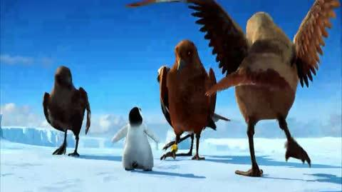 Happy Feet - The vultures