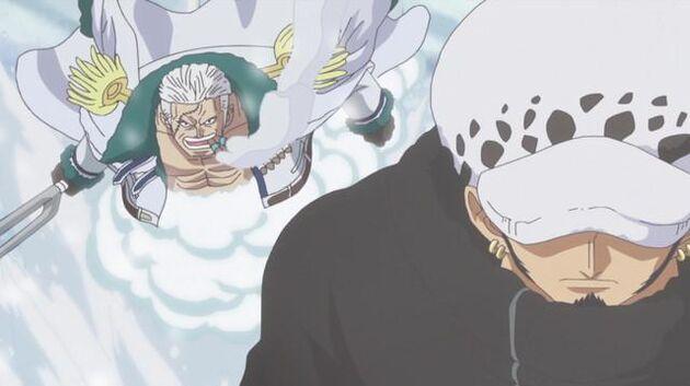 One Piece - Episode 587 - A Collision! Law vs