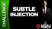 Hitman Absolution Challenge Guide - Rosewood Subtle Injection