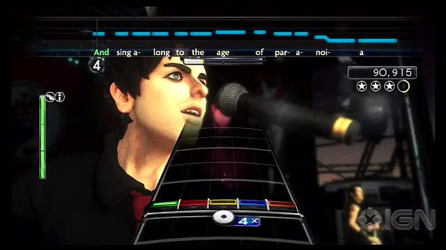 Green Day Rock Band PS3 - American Idiot