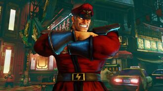 Street Fighter 5 - M. Bison Reveal Trailer