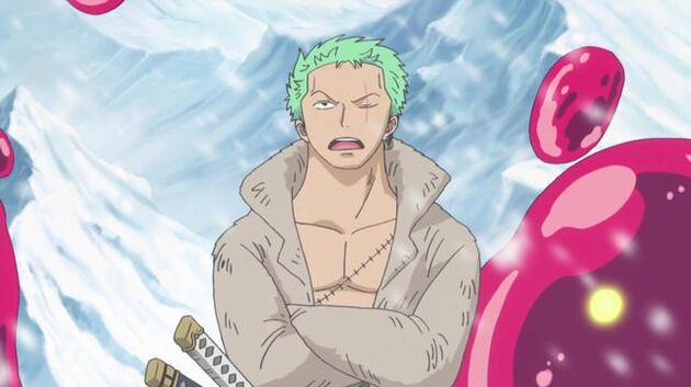 One Piece - Episode 598 - A Samurai Who Can Cut Fire! Foxfire Kin'emon!