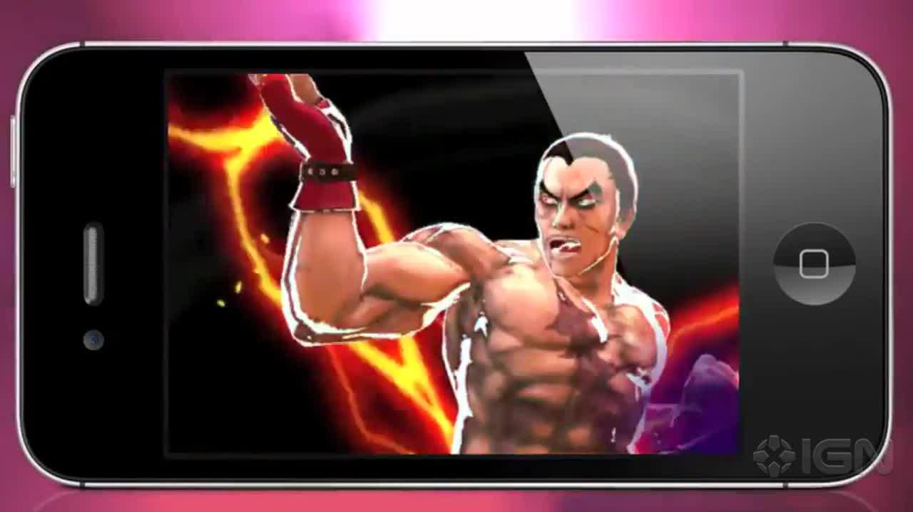 Street Fighter X Tekken Mobile Japanese Trailer