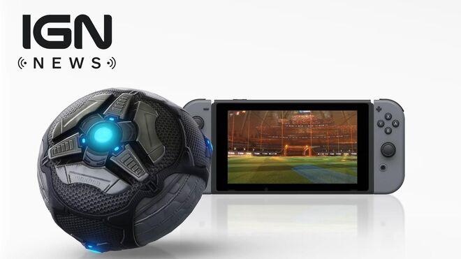 E3 2017 Rocket League for Nintendo Switch - IGN News
