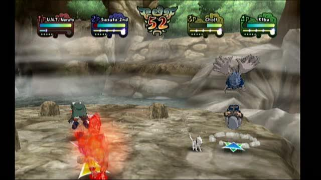 Naruto Clash of Ninja Revolution 2 Nintendo Wii Video - E3 2008 Live Wire Demo