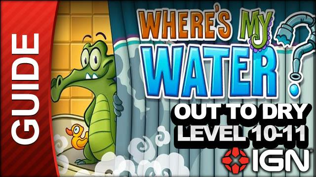 Where's My Water? - Out to Dry - Level 10-11 Mud Bucket - Walkthrough