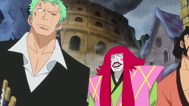 File One Piece - Episode 726 - Fourth Gear! The Phenomenal Bounce-Man!