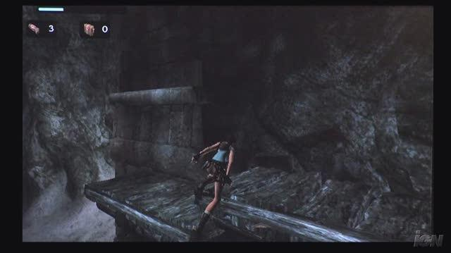 Tomb Raider Anniversary Nintendo Wii Gameplay - Exploring (HD Off-Screen)