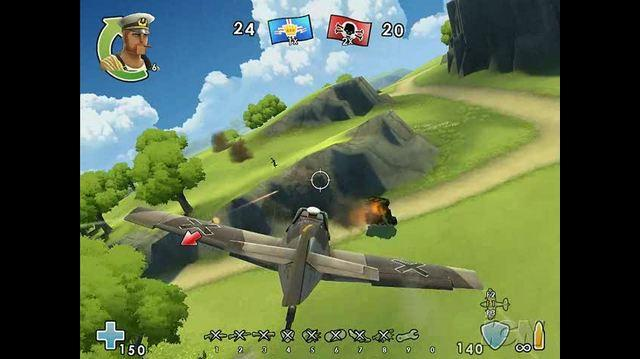 Battlefield Heroes PC Games Gameplay - Airplane
