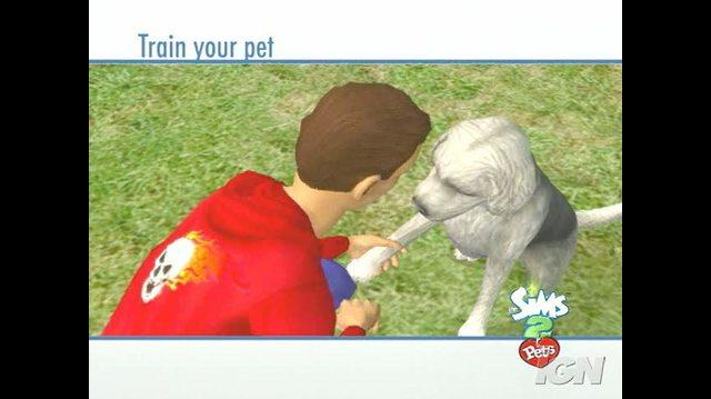 The Sims 2 Pets Nintendo Wii Trailer - First Trailer