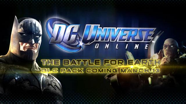 DC Universe Online DLC 3 The Battle for Earth Trailer