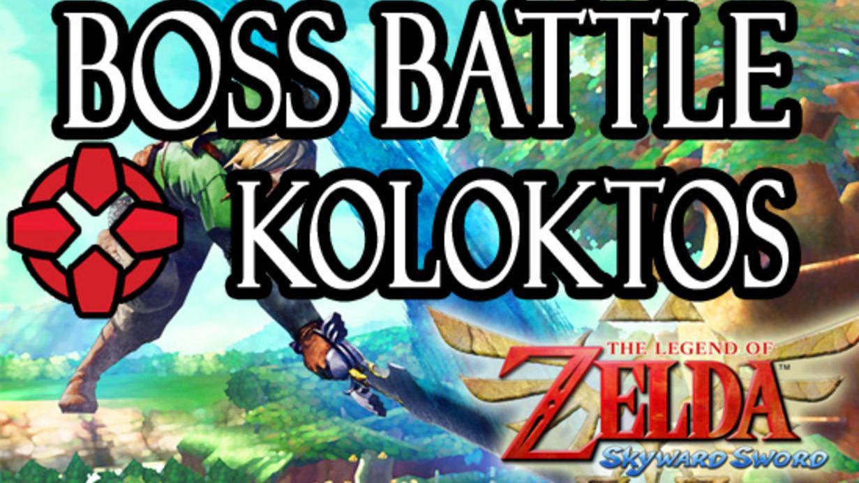 The Legend of Zelda Skyward Sword Koloktos Battle