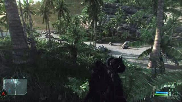 Crysis PC Games Gameplay - Sniped (HD Off-Screen)
