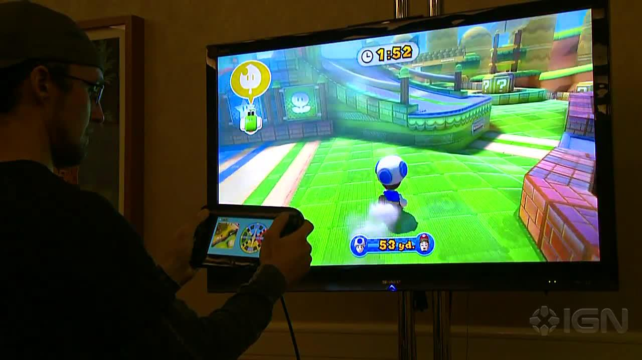 Nintendo Land - Mario Chase Off-Screen Footage