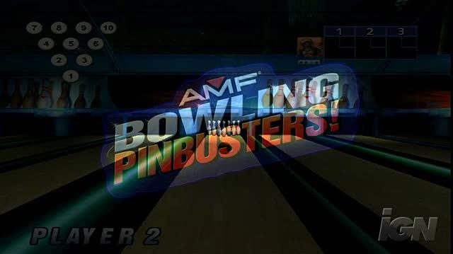 AMF Bowling Pinbusters Nintendo Wii Trailer - Advertisement ()HD)